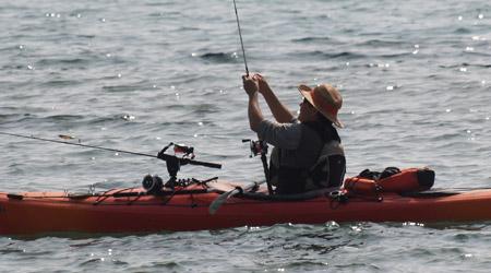 Pesca en kayak for Muebles asiaticos barcelona